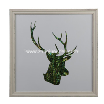 Luxury Design Deer Antler Shape Wall Decoration Pictures for Home, Hotel, Restaurant, Office